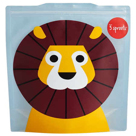 Picture of 3Sprouts® Sandwich Bag (2 pack) Lion