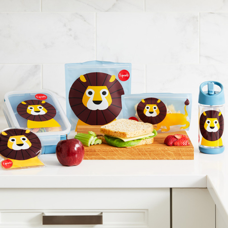 3Sprouts® Sandwich Bag (2 pack) Lion