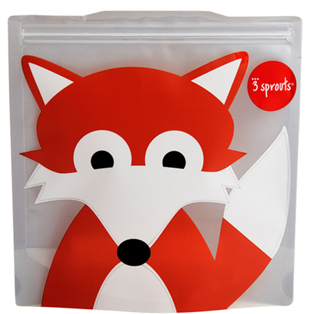 Picture of 3Sprouts® Sandwich Bag (2 pack) Fox