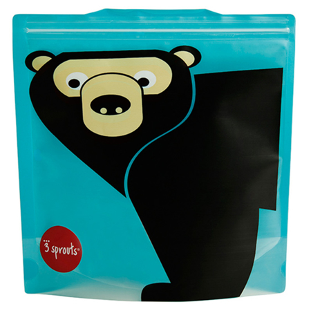 Picture of 3Sprouts® Sandwich Bag (2 pack) Bear