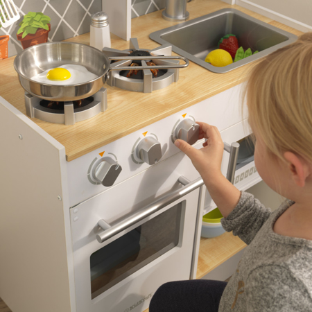 Picture of KidKratft® Let's Cook Wooden Play Kitchen