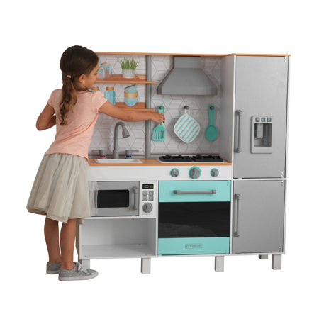 Picture of KidKratft® Gourmet Chef Play Kitchen with EZ Kraft Assembly™