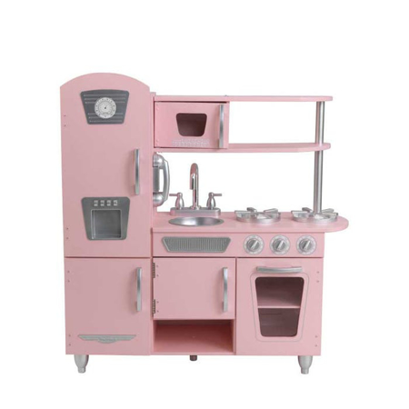 Picture of KidKratft® Vintage Play Kitchen - Pink/Silver