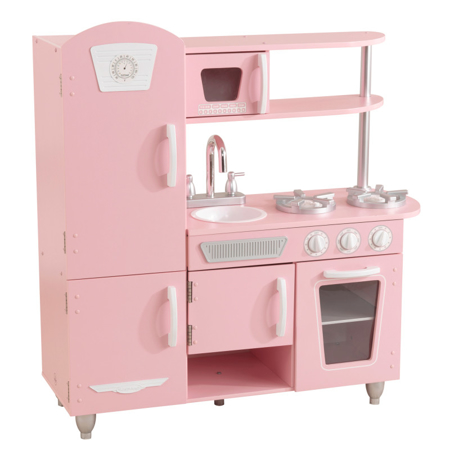 Picture of KidKratft® Vintage Play Kitchen - Pink/White