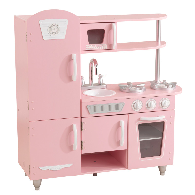 Picture of KidKratft® Vintage Play Kitchen - Pink/White