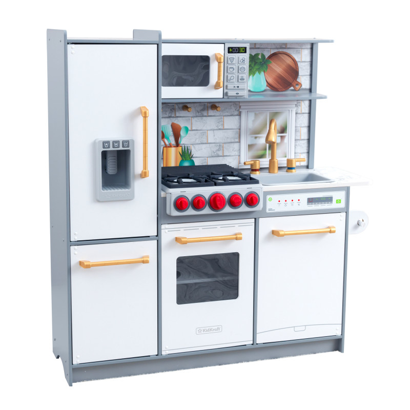 Picture of KidKratft® Uptown Elite Play Kitchen with EZ Kraft Assembly™