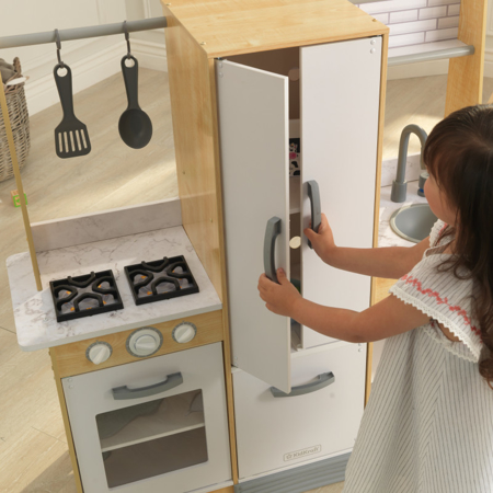 Picture of KidKratft® Modern Day Play Kitchen with EZ Kraft Assembly™