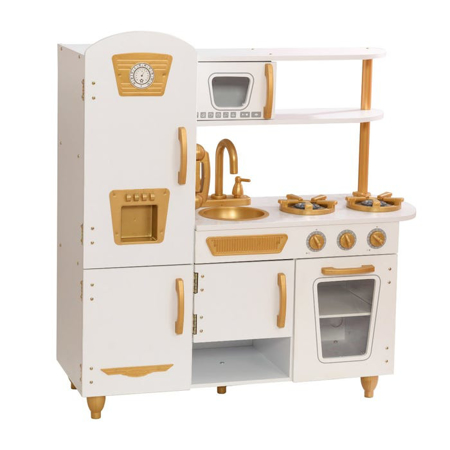 Picture of KidKratft® Vintage Play Kitchen - White/Gold