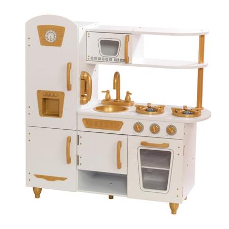 Picture of KidKratft® Vintage Play Kitchen - White/Gold