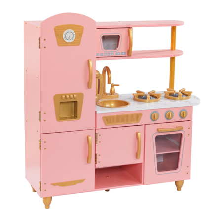 Picture of KidKratft® Vintage Play Kitchen - Pink/Gold