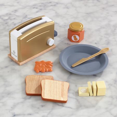 KidKratft® Modern Metallics™ Toaster Set