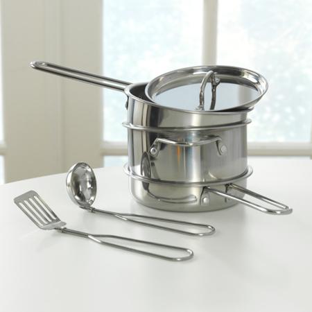KidKratft® Deluxe Cookware Set with Food