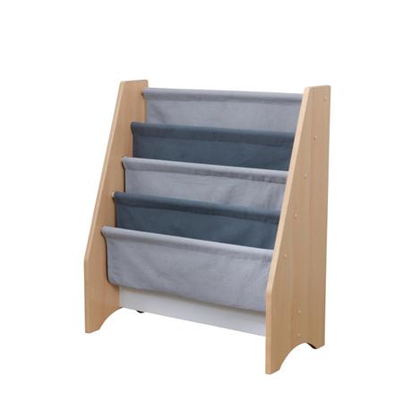 Picture of KidKratft® Sling Bookshelf - Gray & Natural