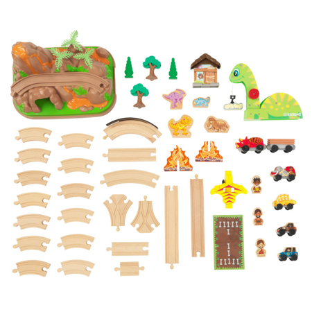 Picture of KidKratft® Dinosaur Bucket Top Train Set