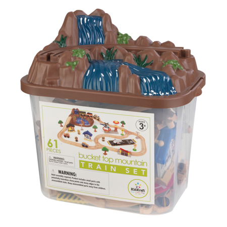 Picture of KidKratft® Bucket Top Mountain Train Set