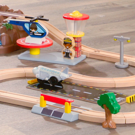 Picture of KidKratft® Bucket Top Mountain Train Set