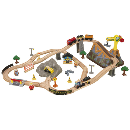 Picture of KidKratft® Bucket Top Construction Train Set