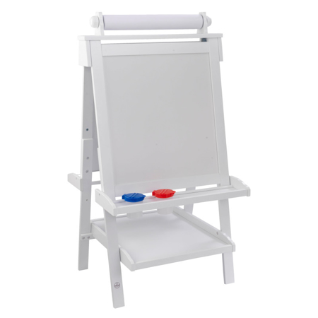 Picture of KidKratft® Deluxe Wooden Easel - White