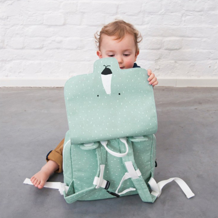 Picture of Trixie Baby® Satchel Mr. Polar Bear