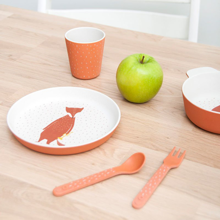 Picture of Trixie Baby® Set spoon/fork Mrs. Flamingo