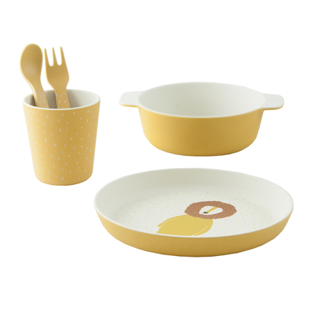 Trixie Baby® Tableware gift set - Mr. Lion