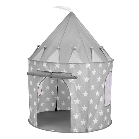 Kids Concept® Play Tent Star Grey