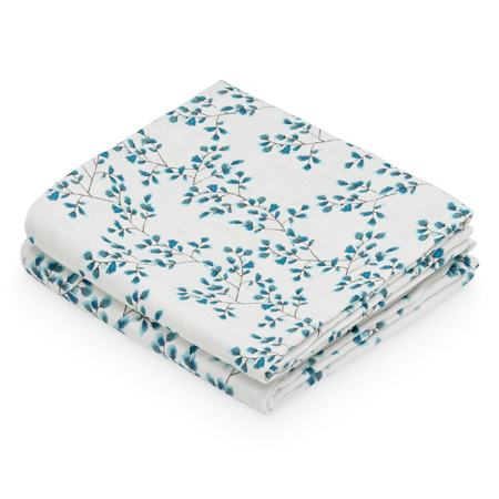 Picture of CamCam® Musling Cloth Fiori 2pack 70x70