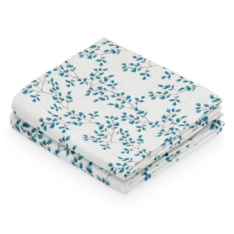 Picture of CamCam® Musling Cloth Fiori 2pack (70x70)