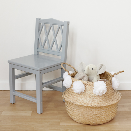 CamCam® Harlequin Kids Chair - Grey