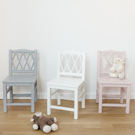 CamCam® Harlequin Kids Chair - White