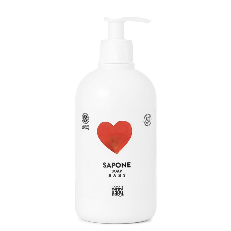 Picture of Linea MammaBaby  Hand And Face Baby Soap Margherita 500ml