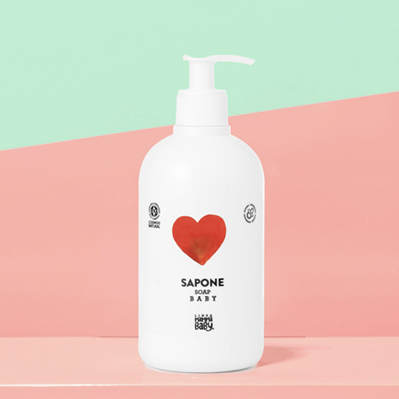 Linea MammaBaby  Hand And Face Baby Soap Margherita 500ml