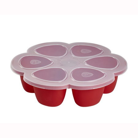 Picture of Beaba® Multiportions 150ml Silicone Tray Red