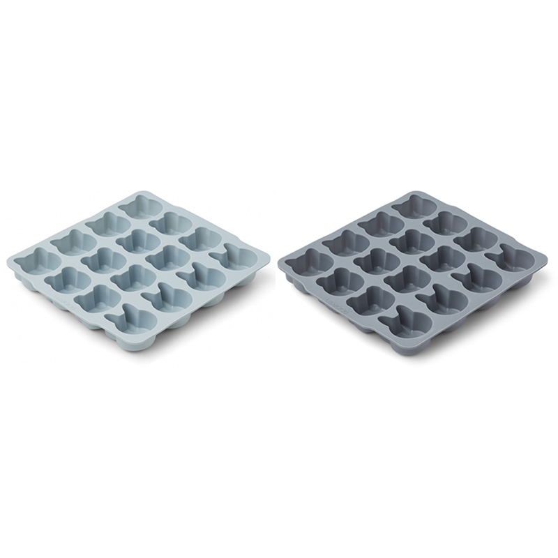 Picture of Liewood®  Sonny ice cube tray Blue Mix - 2 pack