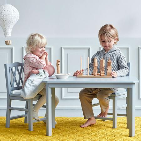 CamCam® Harlequin Kids Table - FSC Grey