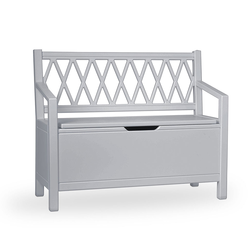 Picture of CamCam® Kids Storage Bench - Grey