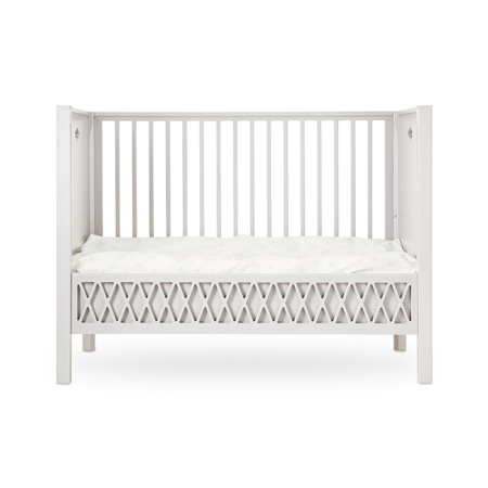 Picture of CamCam® Harlequin Baby Bed, Closed Ends 70x140 - Light Sand