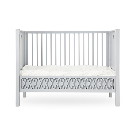 Picture of CamCam® Harlequin Baby Bed, Closed Ends 60x120cm - Grey