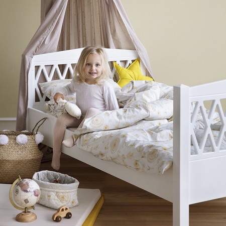 Picture of CamCam® Harlequin Junior Bed 90x160 - White