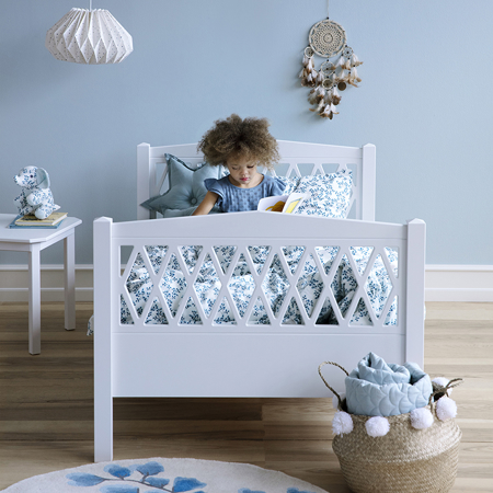 Picture of CamCam® Harlequin Junior Bed 90x160 - Light Sand