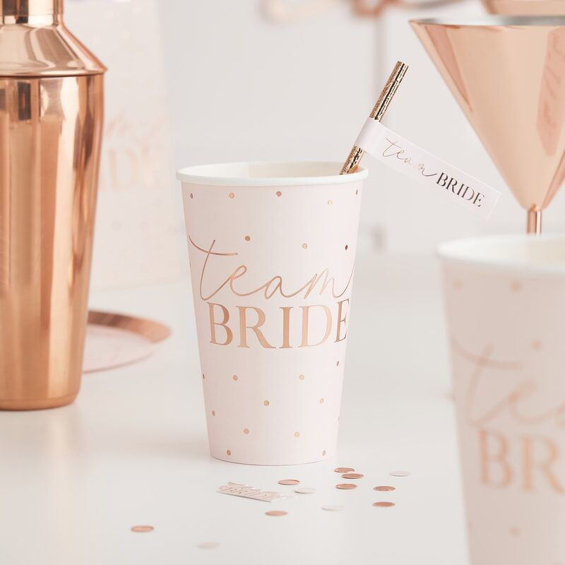 Picture of Ginger Ray® Rose Gold Foiled Large Cups