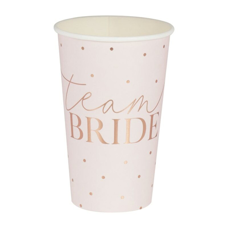 Ginger Ray® Rose Gold Foiled Large Cups