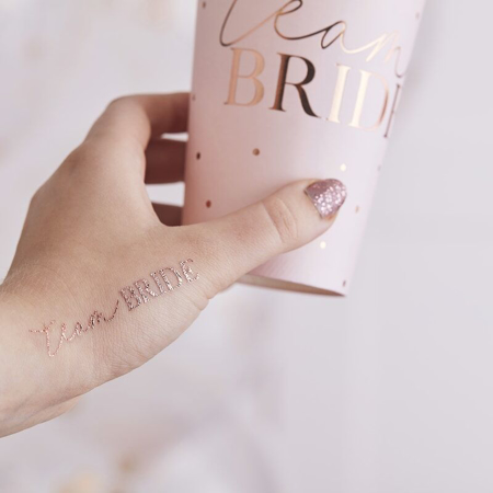 Picture of Ginger Ray® Rose Gold Team Bride Tattoos