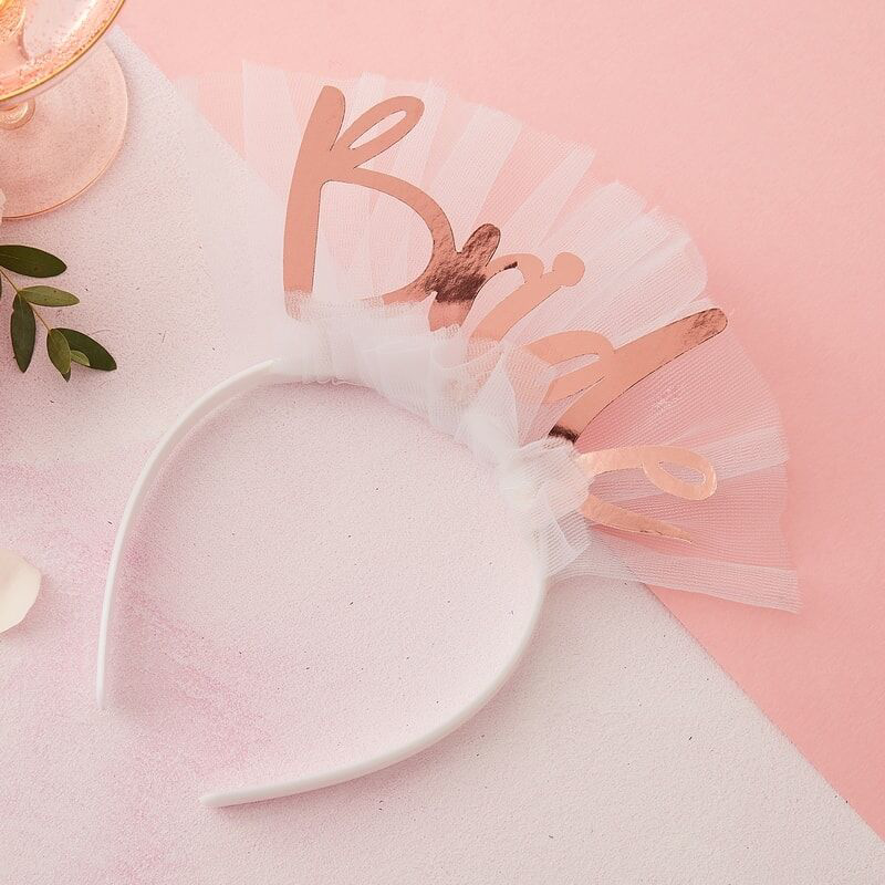 Picture of Ginger Ray® Floral Hen Party Bride Headband