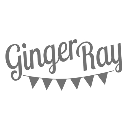 Picture of Ginger Ray® White PegBoard with Gold Letters