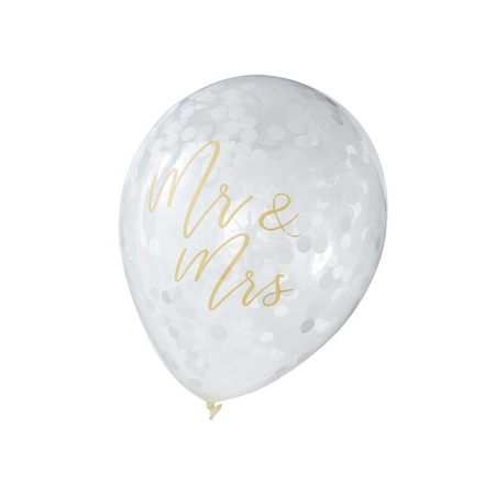 Ginger Ray® Mr & Mrs Balloons