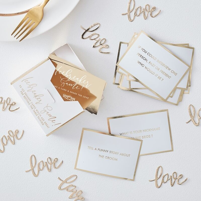 Picture of Ginger Ray® Game for wedding table