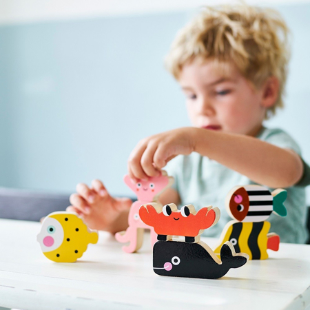 Picture of Petit Monkey® Wooden ocean stacker