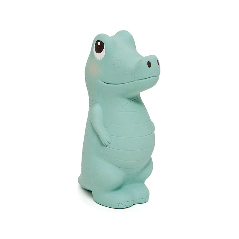 Picture of Petit Monkey® 100% natural rubber toy Charlie the Crocodile