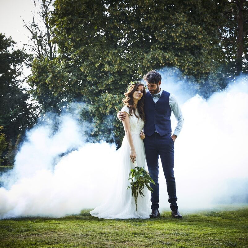 Picture of Ginger Ray® Smoke Bomb - White